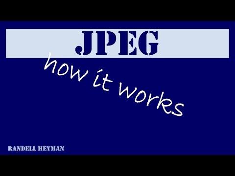 How JPEG works