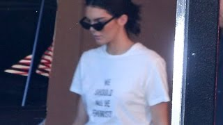 Kendall Jenner Gets Political Again After Pepsi Ad Flop with New T-Shirt
