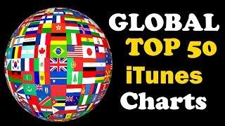 Global iTunes Charts   Top 50   April 2018 #1   ChartExpress