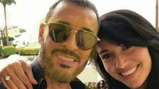 بالفيديو كاظم الساهر يظهر للمرة الأولى بصحبة خطيبته