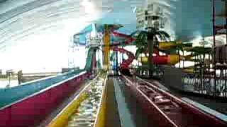 sky screamer water slide fallsview indoor waterpark