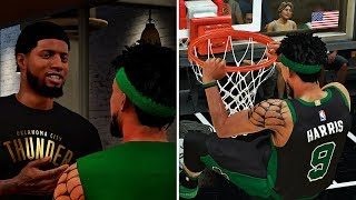 NBA 2K18 MyCAREER - ELI POSTERIZED M.SPEIGHTS & J.ISAAC!! PG13 Wants Me To Sign With NIKE!