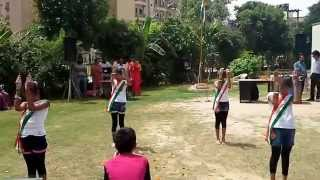 jahan paon mein ..my choreography by awesome foursome.