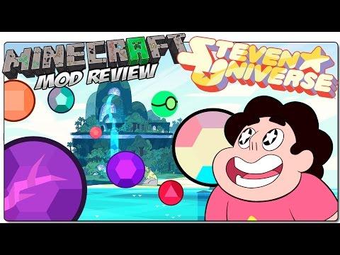 STEVEN UNIVERSE MOD PARA MINECRAFT 1.7.10 EN ESPAÑOL Gemas con poderes MINECRAFT MODS