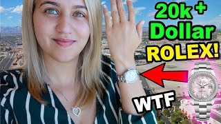 LOGAN BOUGHT ME A ROLEX FOR MY BIRTHDAY!!!