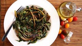 Purslane Salad Recipe - Դանդուռով Աղցան - Heghineh Cooking Show