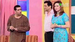 Nasir Chinyoti, Nargis and Zafri Khan New Pakistani Stage Drama Full Comedy Funny Clip