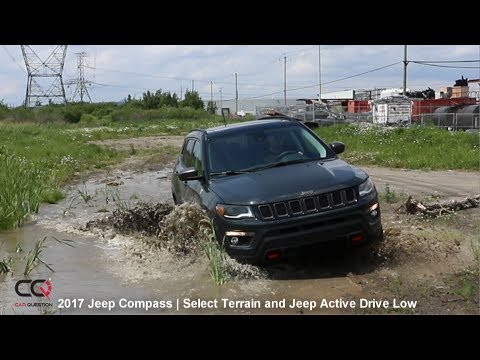 2017 Jeep Compass Review | Jeep Active Drive LOW  | Part 7/10