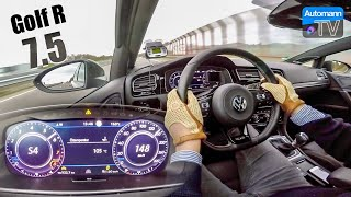 2018 Golf 7.5 R Variant - 0-240 km/h LAUNCH CONTROL (60FPS)