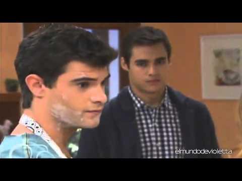 Leon va a la casa de Vilu y la ve con Diego