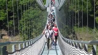Titan-RT, die größte Hängebrücke ihrer Art