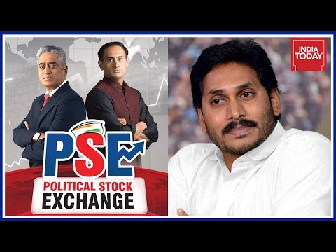 Jagan Mohan Reddy Most Favoured As Next Andhra Pradesh CM Political Stock Exchange