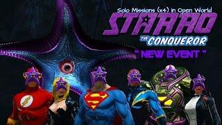 DCUO | NEW | Central City Starro Deluge (Open World Missions) [earth dps pov]