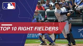 The Top 10 right fielders in MLB right now