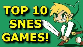 TOP 10 Games MISSING From SNES Classic Edition!