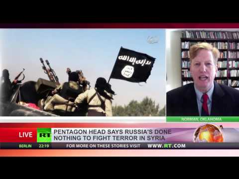 US fighting ISIS alone Russia doing virtually zero in Syria Pentagon