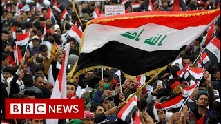 Huge rally as Iraqis demand US troops pull out - BBC News