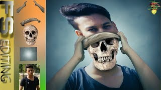 Latest 2018 Swappy Pawar Editing|skull avtaar ps touch Manipulation|Swappy pawar Editing