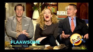 John Cena On Relaxing His Butt Hole And Leslie Mann