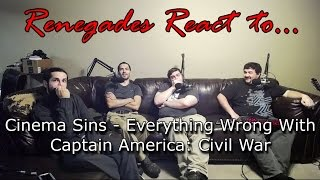 Renegades React to... Cinema Sins - Everything Wrong With Captain America: Civil War