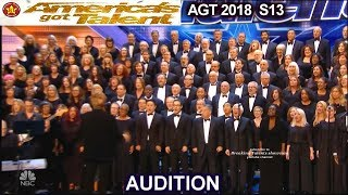 "Angel City Chorale Choir with ""AFRICA"" AWESOME  America's Got Talent 2018 Audition AGT"