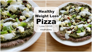 Weight Loss Pizza Recipe - How To Lose Weight Fast - 5 KGS In 15 Days - Super Weight Loss Pizza - #1