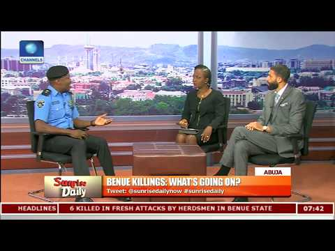 Xxx Mp4 Moshood Counters Gov Ortom Says Benue Militia Are Armed With AK 47 Rifles Pt 3 Sunrise Daily 3gp Sex