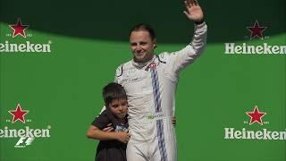 Felipe Massa's Emotional Final Race in Brazil | 2017 Brazil Grand Prix