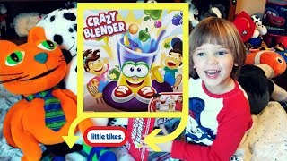 Sweetie Fella Aleks 🤹🏻‍Ralphie the Orange Cat UNBOXING Crazy Blender upside down with a whistle!