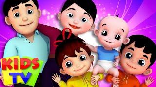 Finger Family | Junior Squad | Kindergarten Nursery Rhymes For Kids