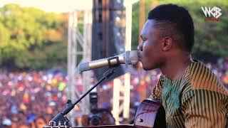 Mbosso Akiwaambia LIVE mashabiki zake kwenye utambulisho wake(MBOSSO DAY) Part 1