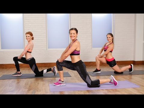 5-Minute Stretch Workout For Leaner, Longer Limbs | Class FitSugar