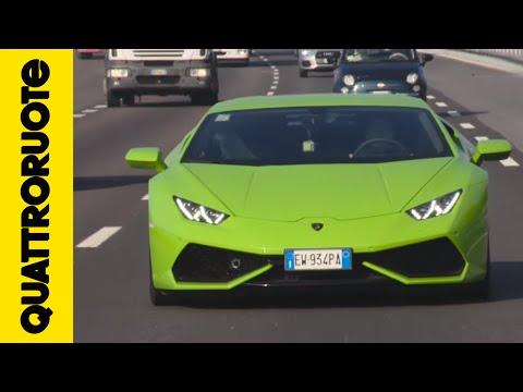 Come rispettare i limiti con una Lamborghini Huracàn Diario di bordo Day 2