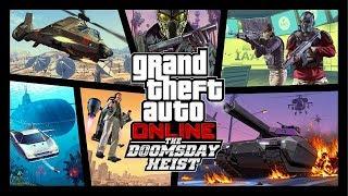 GTA Online: The Doomsday Heist Trailer