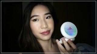 New MAC Cosmetics Lightful C Quick Finish Foundation Cushion Compact Review + Demo || TrishhYoungg