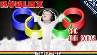 Love for Winning Will Make You play more Roblox Epic Minigames Action Adventures [KM+Gaming S01E37]