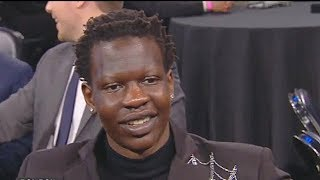 Bol Bol Sad After Finally Being Drafted With 44th Pick & Heat Trade Him To Nuggets! 2019 NBA Draft