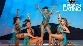 1er Lugar salsa y sabor team shines ladies Euroson Latino 2016