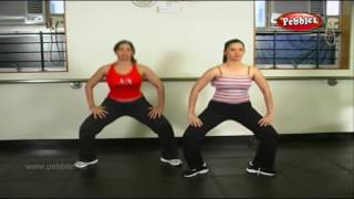 Warm Up Exercise Aerobics Fitness in Telugu | Aerobic Dance Workout | Aerobics for beginners