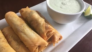 The Quickest Chicken & Veggie Samosa Wraps/rolls Nazkitchenfun