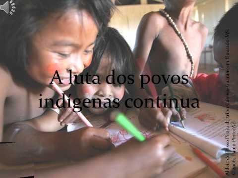 Povos indígenas no Brasil vídeo .wmv