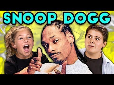 KIDS REACT TO SNOOP DOGG