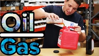 How to Mix Oil & Gas for a 2 Stroke Motor