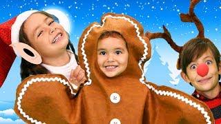 Finger Family Christmas Version   Kids Songs