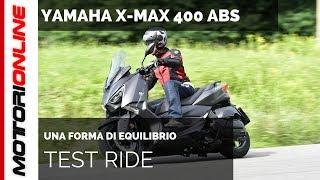 Yamaha X-MAX 400 ABS 2018 | Test ride