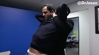 Dr. Jason - Saudi Arabian Man With Lower Back PAIN & NUMBNESS Visits For Alignment