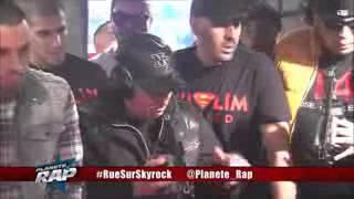 Freestyle Lotfi DK et Révolution Urbaine sur Skyro