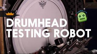 Remo + Drum Machine: Drumhead Testing