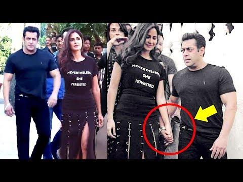 Xxx Mp4 Salman Khan Walks OPENLY With GIRLFRIEND Katrina Kaif At Tiger Zinda Hai Promotions 3gp Sex