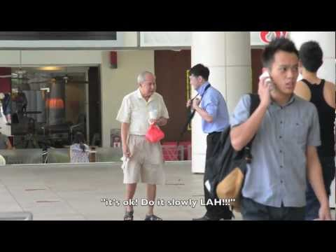 Singaporeans getting All Tied Up Episode 1